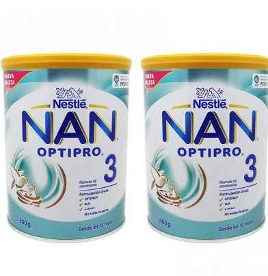 Nan Optipro 3 Duplo 1600 gramos