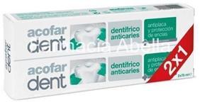 Acofardent Pasta dentifrica Anticaries 75 ml Duplo