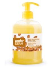 Acofarderm Jabon de Manos Almendras Miel 500 ml