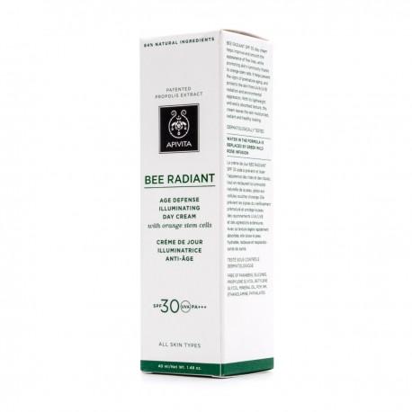 Apivita Bee Radiant Crema de Dia Iluminadora Spf30 40 ml