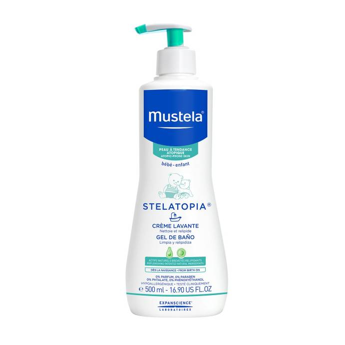 Mustela Stelatopia Gel Baño 500 ml