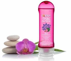 Control Gel Masaje Lubricante Thai Passion 200 ml