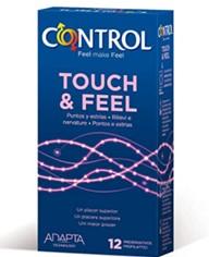 Control Preservativos Touch & Feel 12 unidades