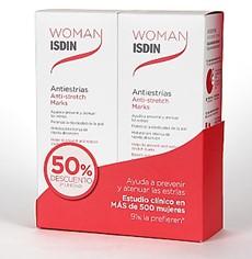 Woman Isdin Antiestrias 500ml + 500ml Duplo Promocion