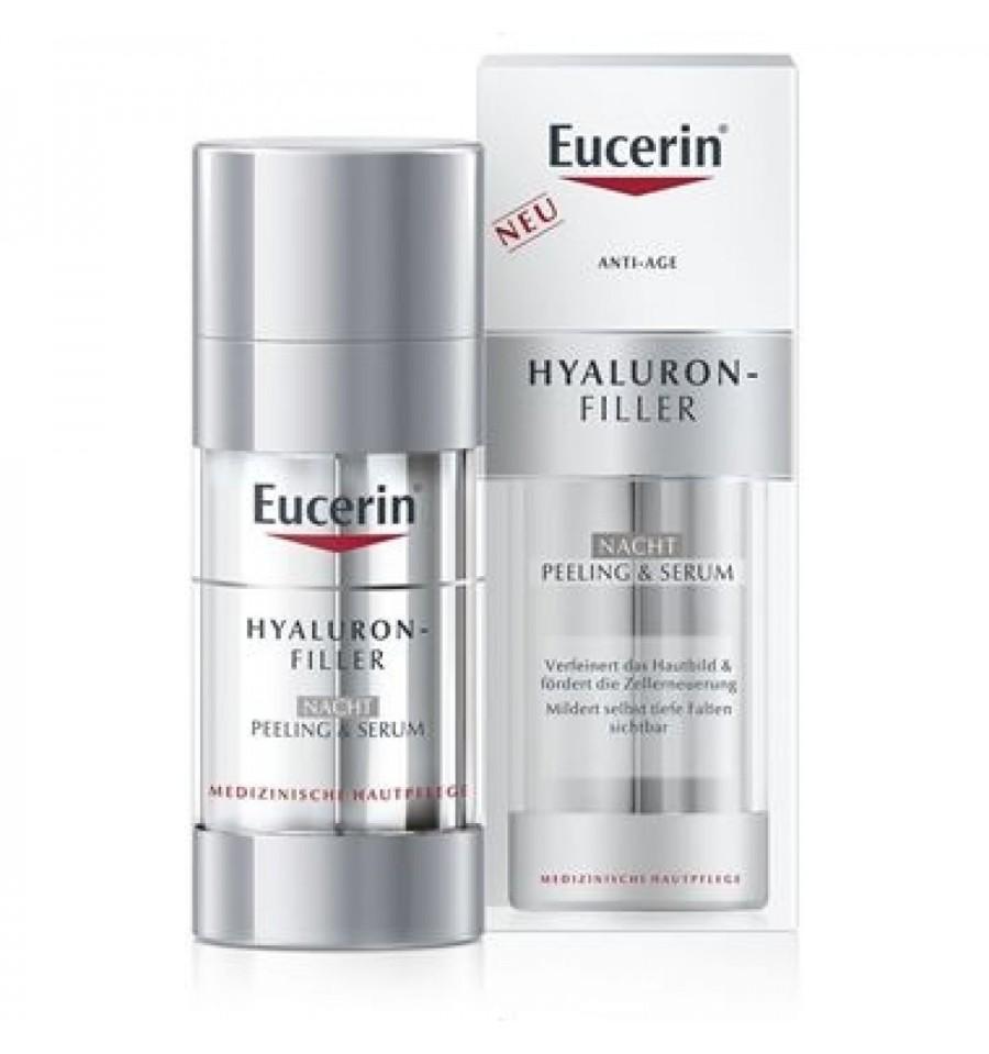 Eucerin Hyaluron Filler Peeling Serum Noche 30 ml