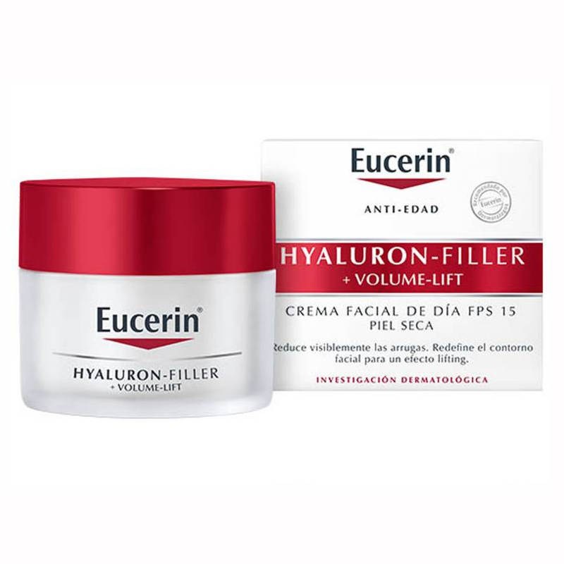 Eucerin Hyaluron Filler Volume Lift Crema Dia Normal Mixta Fps 15 50 ml