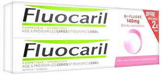 Fluocaril Dientes Sensibles Pasta 75ml+75ml Duplo Promocion