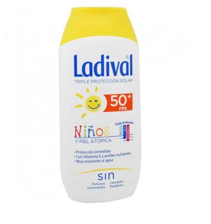 Ladival Niños 50 Locion Gel Crema 200 ml