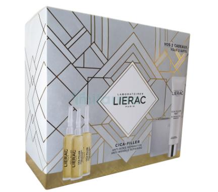 Lierac Cofre Cica Filler Gel Crema Antiarrugas 30ml + Serum Reparador 30ml