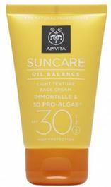 Apivita Suncare Oil Balance Crema Facial SPF30 50 ml