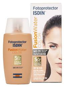 Fotoprotector Isdin 50 Fusion Water Color 50 ml