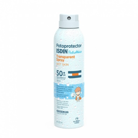 Fotoprotector Isdin 50 Transparent spray Wet skin 250 ml