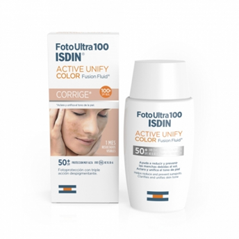 Fotoultra Isdin 100 Active Unify Fusión Fluid 50 ml