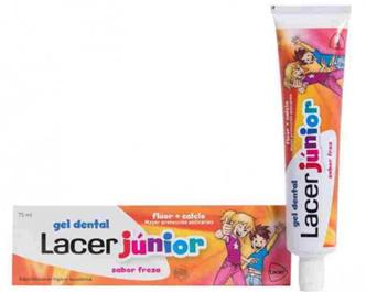 Lacer Junior Gel Fresa 75 ml