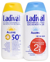 Ladival 15 Crema 200 ml After Sun Regalo 200 ml