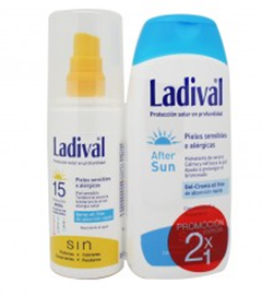 Ladival 15 Spray 150 ml After Sun