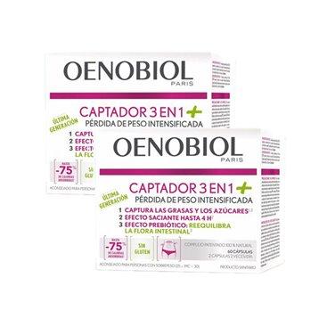 Oenobiol Captador 3 en 1 Plus Duplo 2x60 capsulas