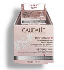 Caudalie Resveratrol Lift Cachemir Crema 50 ml Pack Tisana 15