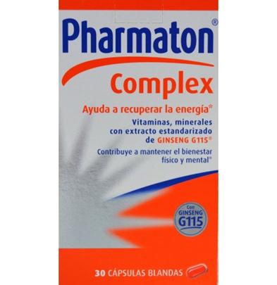 Pharmaton Complex 30 cápsulas blandas