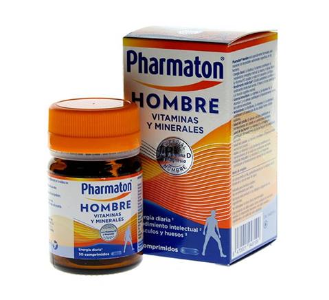 Pharmaton Hombre 30 Comprimidos