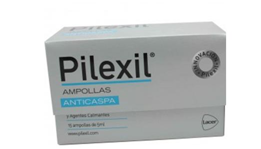 Pilexil Ampollas Anticaspa 15 unidades