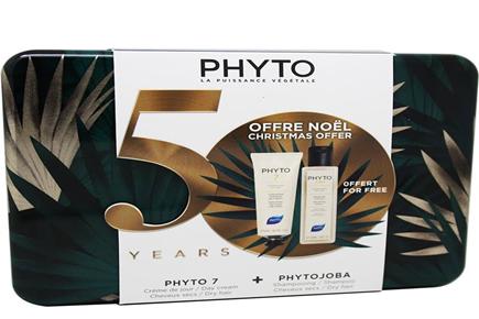 Phyto 7 Crema Día 50 ml Phytojoba Champú 100 ml Cofre