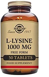 Solgar L-Lisina 1000mg 50 Capsulas