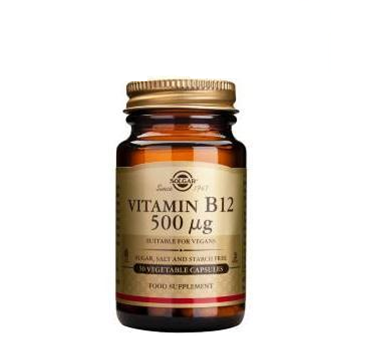 Solgar Vitamina B12 Cianocobalamina 50 Capsulas