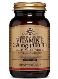 Solgar Vitamina E 400UI 100 Capsulas Vegetales