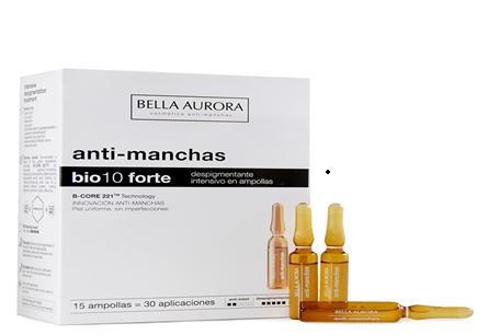 Bella Aurora Bio10 Forte Ampollas 15 Ampollas