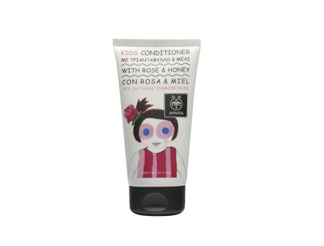 Apivita Kids Acondicionador Rosa Miel 150 ml
