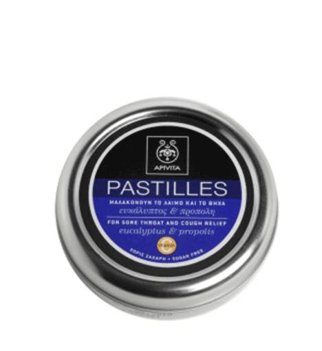 Apivita Pastillas Eucalipto y Propoleo 45 g