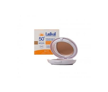 Ladival 50 Oil Free Compacto Dorado 10g