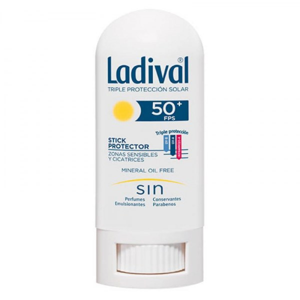 Ladival 50 Stick Protector Zonas Sensibles 9g