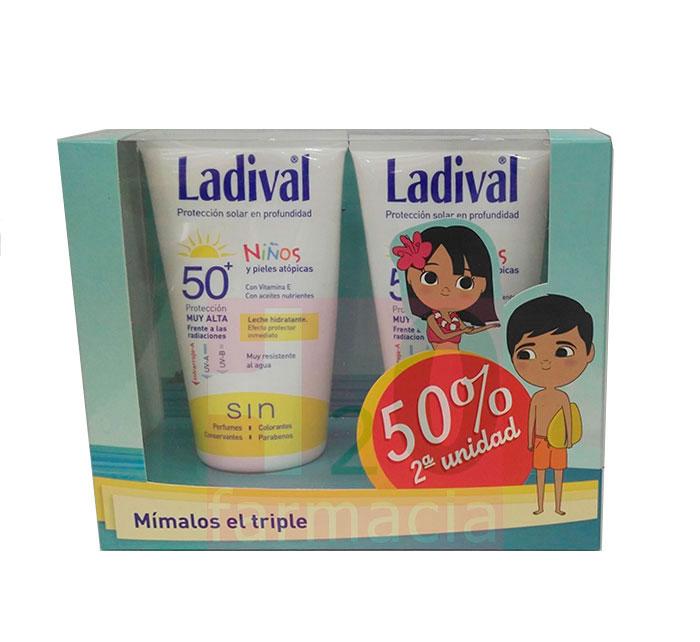 Ladival Niños 50 Crema 150 ml Duplo Promocion