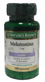 Nature's Bounty Melatonina 1mg 100 Comprimidos