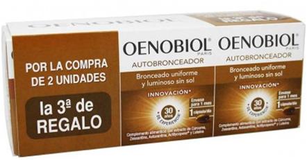 Oenobiol Autobronceador Triplo 90 capsulas