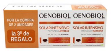 Oenobiol Bronceado Sublimado 90 capsulas Triplo