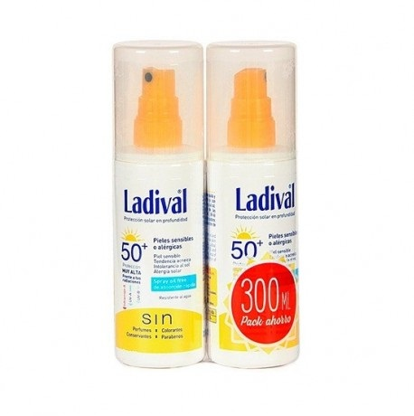 Ladival 50 Spray Piel Sensible 300 ml Duplo Promocion