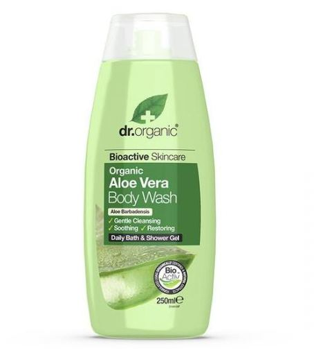 Dr Organic Gel Baño Ducha Aloe Vera 250 ml