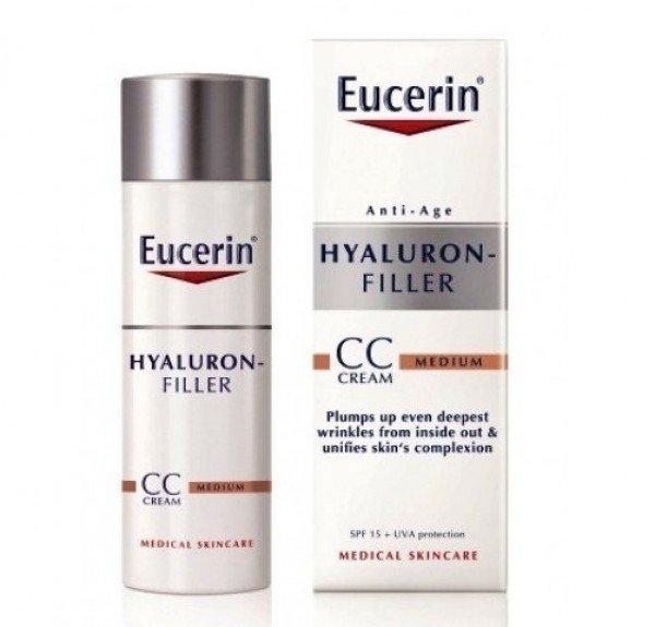 Eucerin Hyaluron Filler CC Crema Fps15 Medio 50 ml