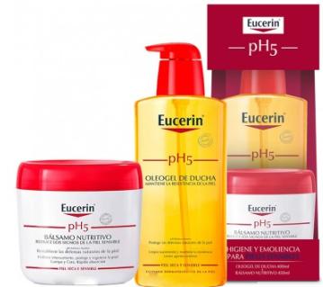 Eucerin Ph5 Balsamo 450 ml Oleogel 400 ml