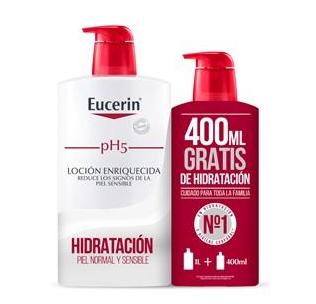 Eucerin Ph5 Loción Enriquecida 1000 ml Regalo 400 ml