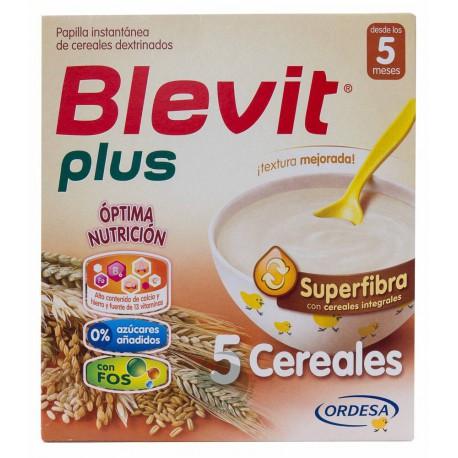 Blevit 5 Cereales Superfibra 600 g