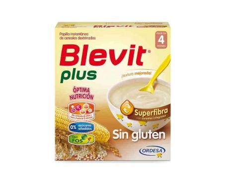 Blevit Plus Cereales Papilla Sin Gluten 600 g