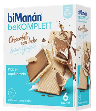Bimanan Bekomplett Barquillo Chocolate Leche Yogur 6 Snacks