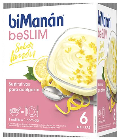 Bimanan Beslim Natillas Limón 6 Unidades
