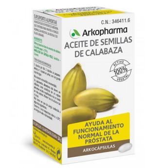 Arkocapsulas Aceite Semillas Calabaza 50 Arkocaps