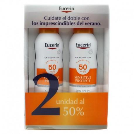 Eucerin Sun Spray Transparente Toque Seco 200ml+200ml