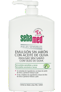Sebamed Emulsion Sin Jabon Aceite de oliva 1000 ml